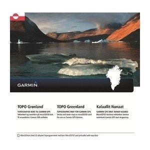 Garmin Topo Groenlandia topog Rap Ceco vettoriali, Nero, Uni GGGM5|#Garmin 010-12367-00