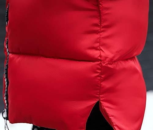 Mantel Kanpola Frauen Jackenmantel Lammy Beiläufige Rot Dicker ...