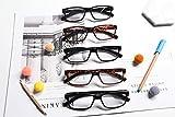 Eyekepper Mens Vintage Reading Glasses-5 Pack