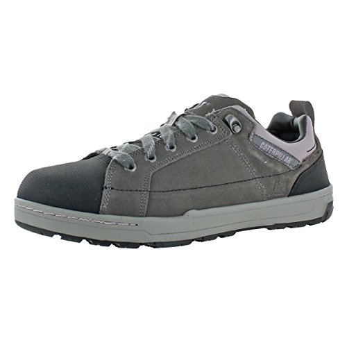 Caterpillar Women's Brode Steel Toe Work Shoe,Grey,6 W US
