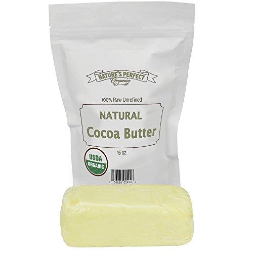 Beurre de cacao biologique - 16 Oz - Fair Trade Certified