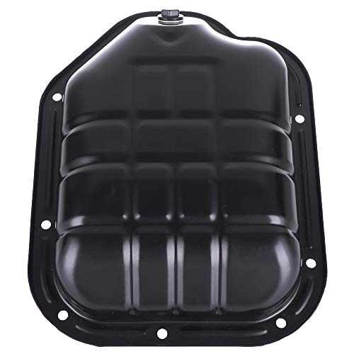 SCITOO Compatible with 264-505 Engine Oil Pan Steel Assembly Fits 00-09 V6 3.5L Cummins Diesel Infiniti I30 I35 Nissan Altima Maxima Murano Quest Pickup - Maxima Diesel Nissan