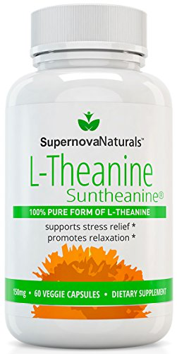 L Theanine Suntheanine Stress Anxiety Supplement product image