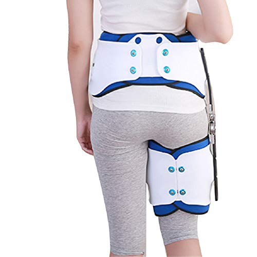 Denshine Hip Fixation Brace Orthosis Extension Stent Thigh Fractures Corrective Protective Gear Support by Denshine (Image #2)