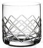 Steelite Diamond Cut 10.25 Oz. Old Fashioned Glass, Set of 6