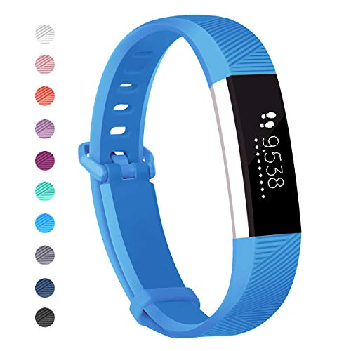 Only for Kids 5.0-7.0 JOMOQ Replacement Bands Compatible for Ace Soft Silicone Sport Wrist Strap Waterproof Replacement with Secure Metal Buckle for Ace//Alta HR Activity Tracker Boy Girl