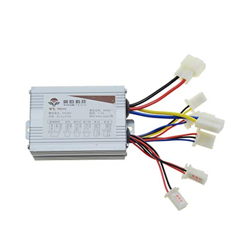 (WOOSTAR Controller 36v 800w Motor Speed Control Box for Electrical Scooter E Bike Bicycle Brush Motor)