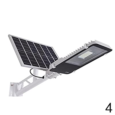 Gracefulvara 10/20/30/50W Solar Powered LED Street Light Outdoor Courtyard Parking Light Lamp