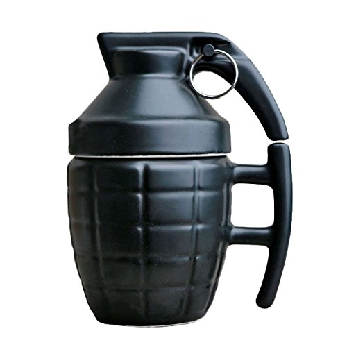 280ml Creative Grenade Drinkware Mugs Ceramic Water Mug