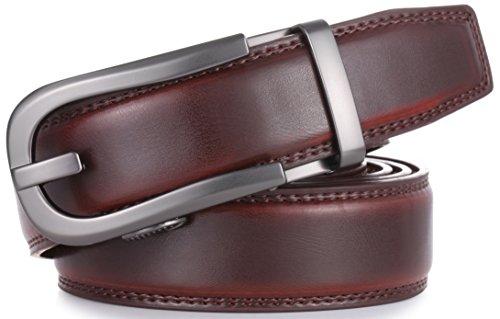 Mio Marino Ratchet Click Belts For Men Mens Comfort