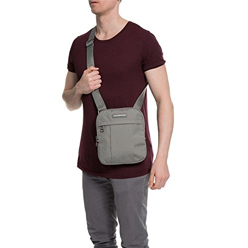 Bag Gris Mini Hilfiger Tommy Gris Cross Hombre Body CnUn1wRq