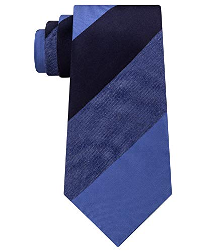 Tie Blue Silk Tonal (KENNETH COLE MENS TONAL STRIPE NECKTIE highland stripe blue)