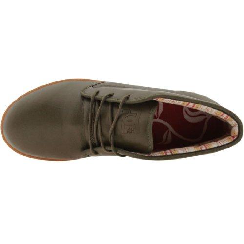 Dc Mens A. Rose Mid Sneaker Uomo Oliva Scuro
