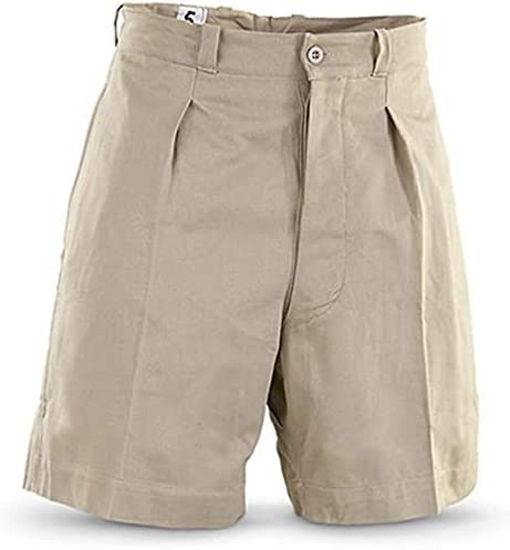 Military Outdoor Clothing Never Issued 1950's Vintage Cotton French Khaki Shorts
