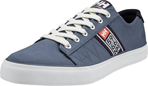 Helly Hansen Men's Salt Flag F-1 Boating Shoes Blue (Vintage Indigo/ Graphite Blue/ Off White/ Paprika) ot2WfTqUGp