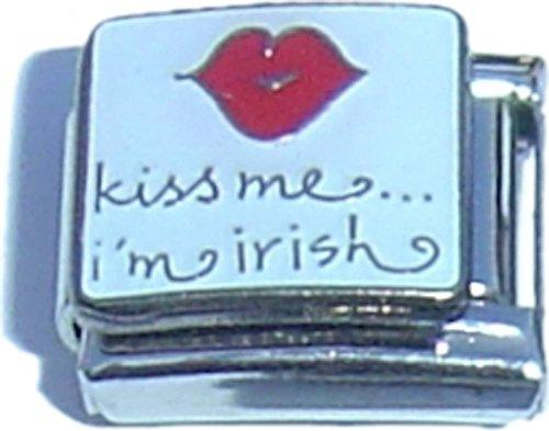 Kiss Me Im Irish Italian Charm