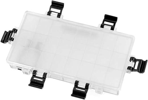 WINBST Palet de plástico con Tapa y Compartimentos Caja de ...