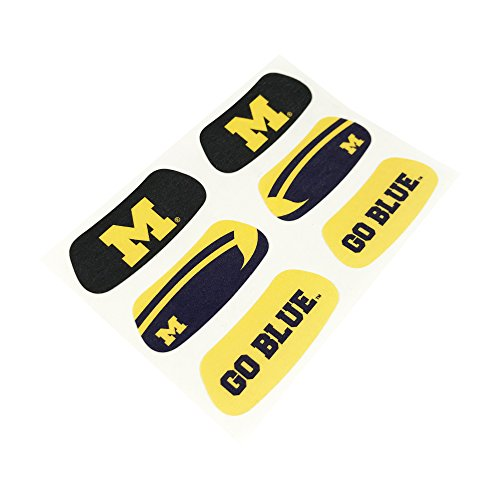 (EyeBlack UF1032 University of Michigan Wolverines Eye Black, 3 Pairs,)