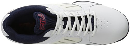 Bank Shoe Basketball Men's Red Navy Fila White Fila Fila 17aUWHO55