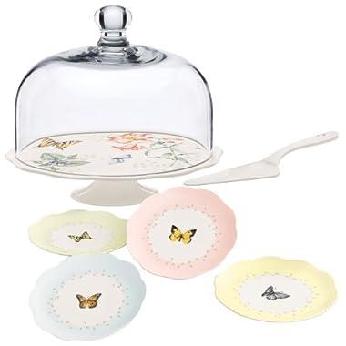 Lenox Butterfly Meadow 7-Piece Dessert Set