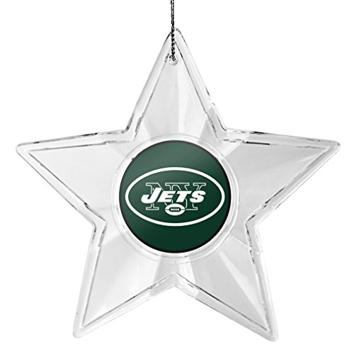 NFL New York Jets Acrylic Star Ornament