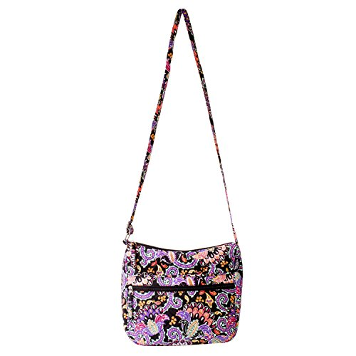 Waverly Hobo Bag (Quilted Black Multi Paisley) (Shoulder Handbag Bag Quilted Cotton)
