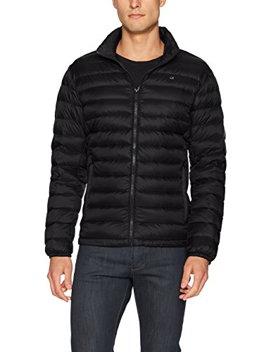 Calvin Klein Men's Packable Down Jacket, black, X-Large