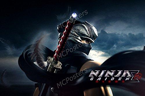 MCPosters Ninja Gaiden Sigma 2 Ryu Original XBOX GLOSSY FINI