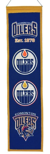 Winning Streak NHL Edmonton Oilers Heritage Banner