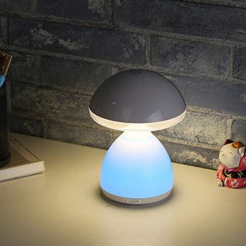 Nueva Lámpara De Seta Colorida Creativa Lámpara De Mesa Táctil Con ...
