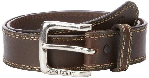 John Deere Men's 38Mm Belt, Brown, 36