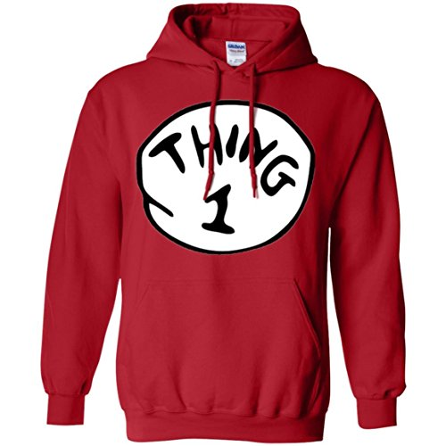 Thing 1 And Thing 2 Hoodies (Thing 1 Pullover Hoodie)