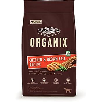 Organix Chicken & Brown Rice Recipe Dry Dog Food, 5.25-Pound