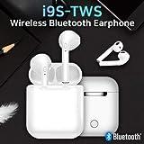 Wireless Earbuds, Magnetic Bluetooth 5.0 Earbuds, Wireless Earphones Mini in-Ear Headsets Sports Earphone with 2 True Wireless Earbuds Compatible with All Smartphones