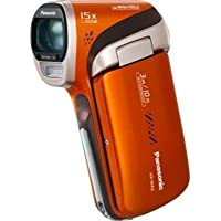 Panasonic HX-WA2 Waterproof Full HD Camcorder (Orange) HX-WA2D (Discontinued by Manufacturer)