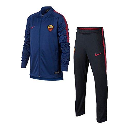 2017-2018 AS Roma Nike Dry Squad Tracksuit (Deep Royal) - Kids Blue footlocker cheap price 3uoPoPP6M
