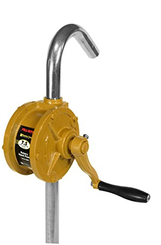 (Fill-Rite SD62 Rotary Hand Pump with 3-Piece Steel Suction Pipe)