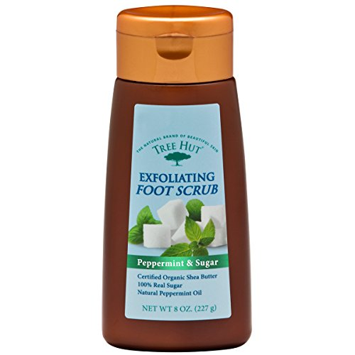 Tree-Hut-Exfoliating-Foot-Scrub-Peppermint-and-Sugar-8-Ounce