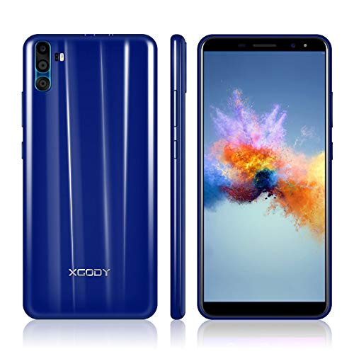 Gsm Quad Band Digital Mobile Phone - Xgody 6 Inch Android 7.0 Unlocked Smartphone Dual Sim HD (18:9) Screen 16GB+1GB Celulares Desbloqueados 2G/3G Network for T-Mobile/AT&T/MetroPCS