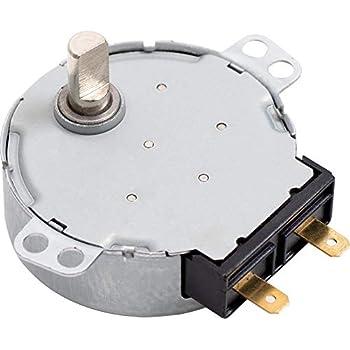 Amazon.com: GE Microondas Turntable 2,5/3 rpm del motor ...