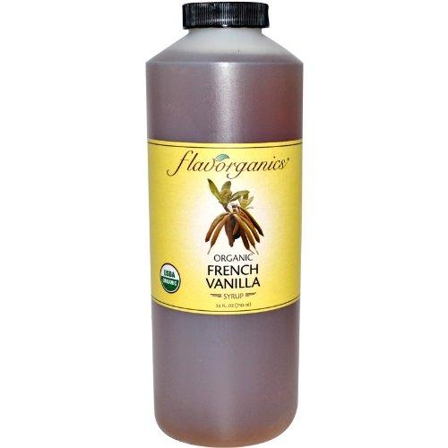 Organic French Vanilla Syrup - Flavorganics BG13009 Flavorganics Van Syrup - 1x24OZ