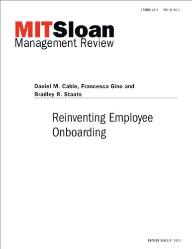 Reinventing Employee Onboarding
