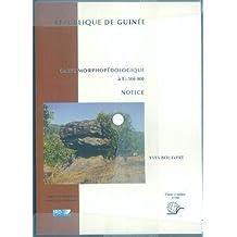 CARTE MORPHOPÉDOLOGIQUE DE LA RÉPUBLIQUE DE GUINÉE, NO.114 ( COFFRET COMPRENANT 1 NOTICE, 3 ANNEXES