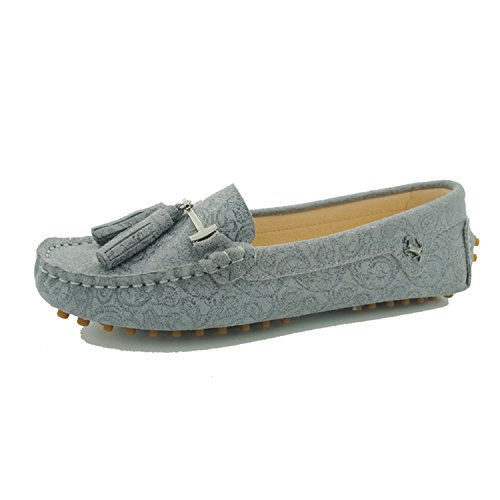 Miyoopark - Ballet mujer Floral-Gray