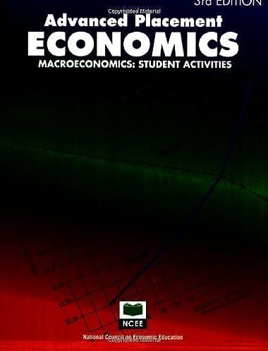 advanced placement economics macroeconomics student activities rh amazon com advanced placement economics microeconomics teacher resource manual pdf Advanced Placement Courses