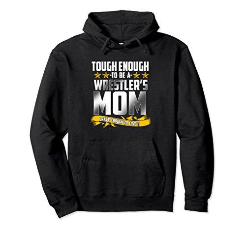 Unisex Wrestler's Mom Hoodie Gift - Wrestling Season XL: Black by Wrestling Funny Wrestler Season Tee T-Shirts