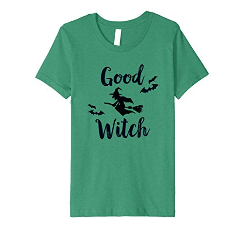 Kids Premium Good Witch Funny Halloween Party Idea T-Shirt 10 Kelly (Funny Halloween Party Ideas)