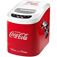 Nostalgia ICE100COKE Coca-Cola 26-Pound Automatic Ice Cube Maker