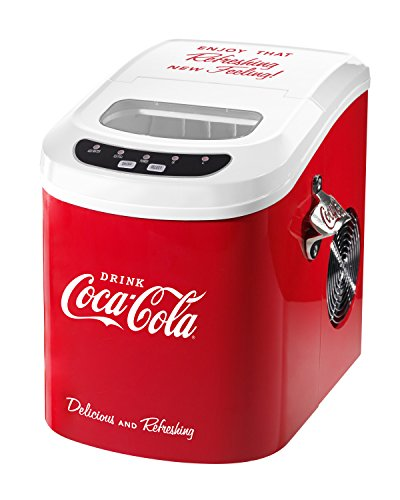 Nostalgia ICE100COKE Coca-Cola 26-Pound  - Clear Cube Ice Maker Shopping Results