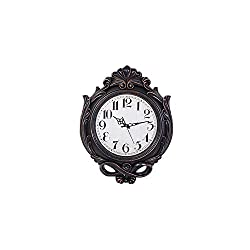 Smart Sense 25 Inches Large Vintage Quartz Wall Clocks Designer Silent Non-Ticking Quartz Wall Clock Decorative Indoor Kitchen Clock, 3D Numbers Display,